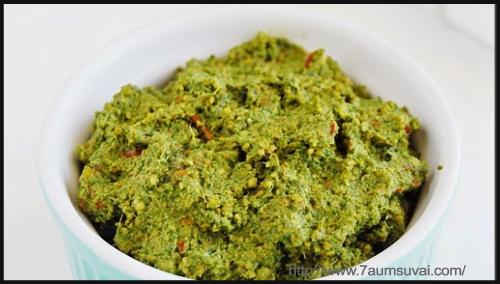 Sides/Dips - Phudina Thovaiyal Recipe By Shanthi Muthuvel
