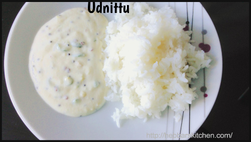 Udnittu Recipe or Uddina Hittu Recipe by Archana - BlogAdda Collective