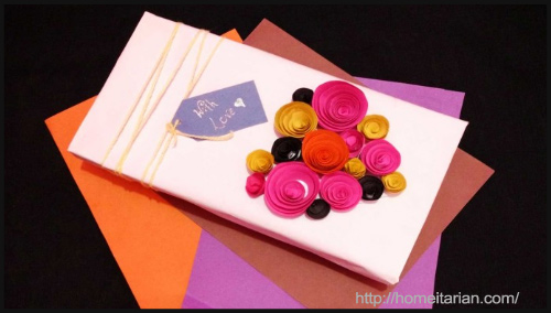 Paper Roses For Gift Boxes By Homeitarian - BlogAdda Collective