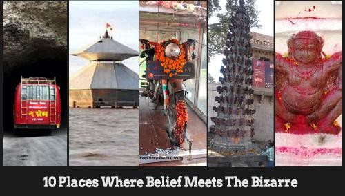 Weird Temples India