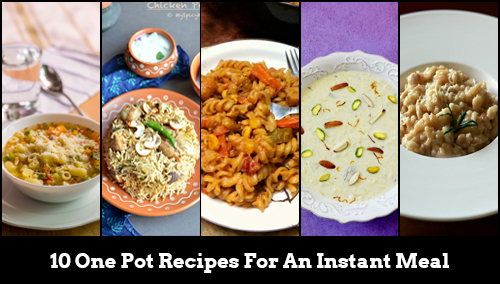 10 best one pot meals and recipes by indian food bloggers feature 10 one pot recipes for an instant forumfinder Gallery