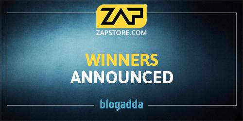 zap store winner announcement