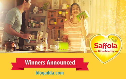 Saffola - Dil Se Healthy - Winners Announced