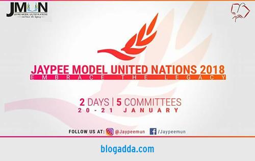 Jaypee Model United Nations 2018