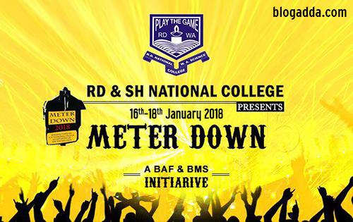 Meterdown 2019 - R D National College