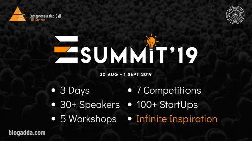 E-Summit 2019 - Entrepreneurship Cell, IIT Kanpur