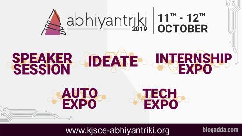 Abhiyantriki - Tech Fest Of KJSCE, Mumbai