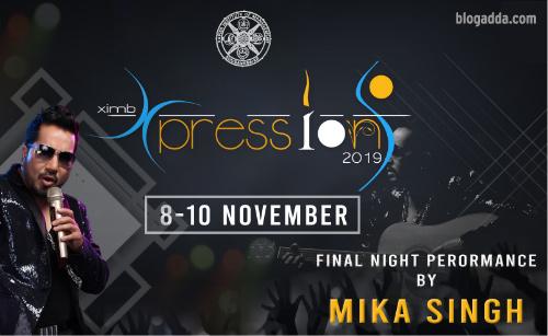 Xpressions 2019 - Annual Cultural Fest By XIMB