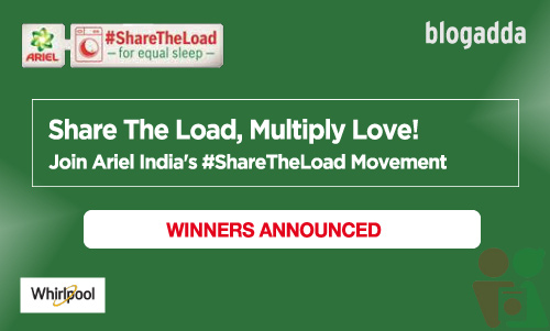 Winner Announcement: Ariel India ShareTheLoad Movement
