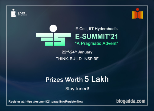 E-Summit 2021 - A Pragmatic Advent - E-Cell, IIT Hyderabad