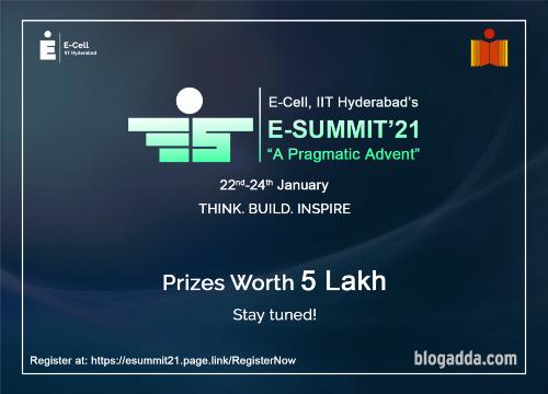 E-Summit 2021 - A Pragmatic Advent - E-Cell, IIT Hyderabad