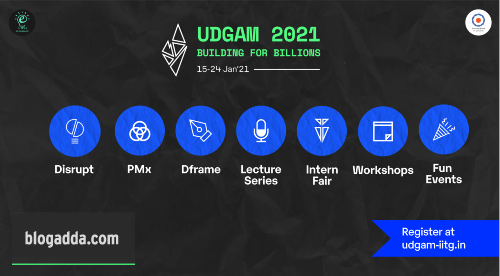 UDGAM 2021 - 13th Annual Entrepreneurship Summit Of IIT Guwahati