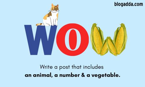 WOW: Animal, Number & Vegetable